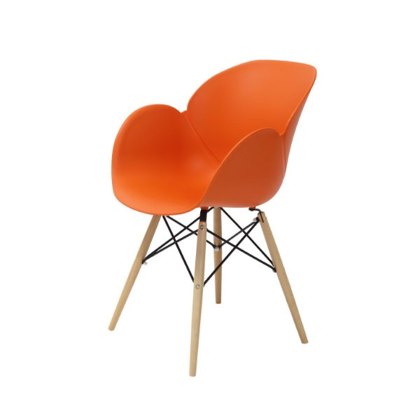 Krzesło Flower King Home pomarańczowy SI-FL-08W.POMARANCZ