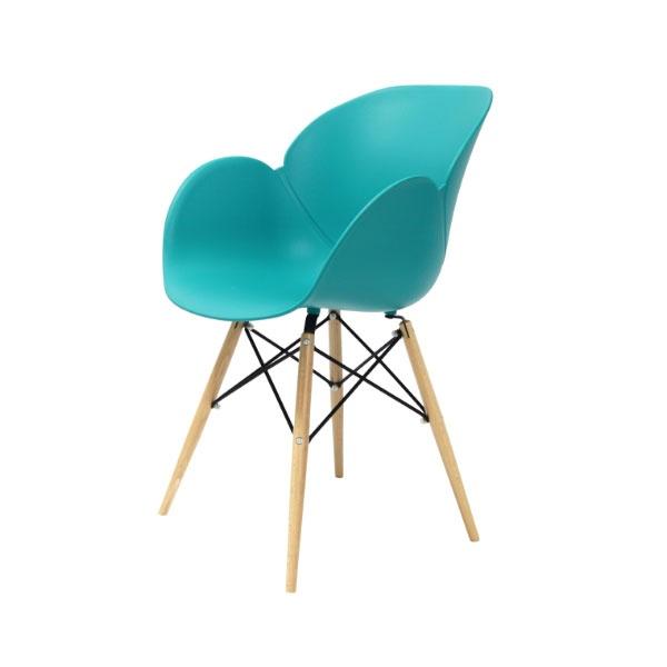 Krzesło Flower King Home turkusowy SI-FL-08W.TURKUS