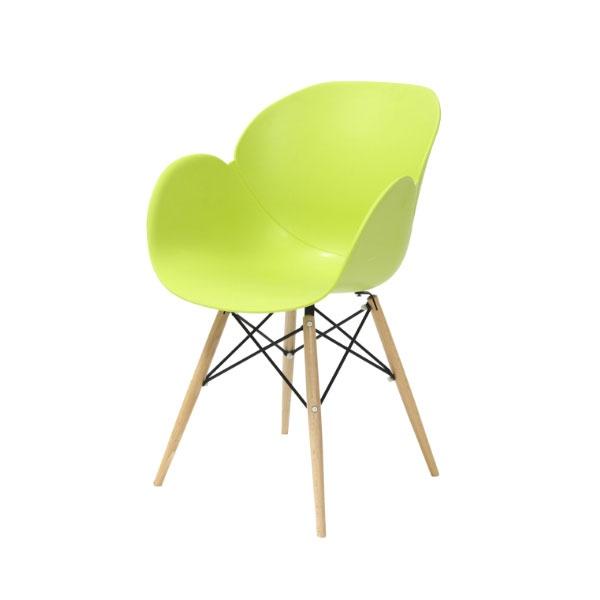 Krzesło Flower King Home zielony SI-FL-08W.ZIELONY