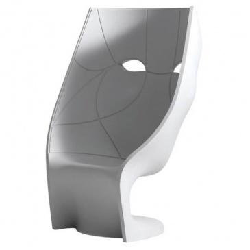 Krzesło/fotel Fabio Novembre King Bath Nemo biały