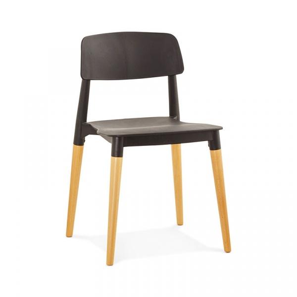 Krzesło Gorgeous Kokoon Design czarny CH01170BL