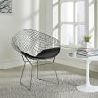 Krzesło HarryArm czarna poduszka 5902385714365