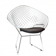 Krzesło HarryArm czarna poduszka
