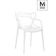 Krzesło Hilo Modesto Design 80cm białe