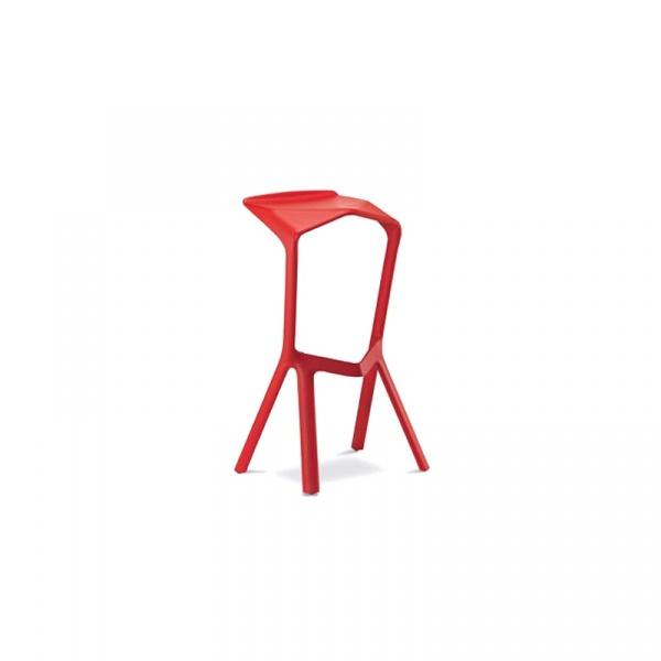 Krzesło/hoker King Bath Miura czerwony SI-KCT-218.CZERWONY
