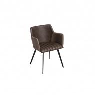 Krzesło Jeff 77x56x54 cm Maduu Studio brązowe