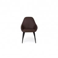 Krzesło Joy brązowe PU