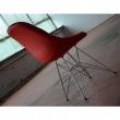 Krzesło King Bath Eames EPC DSR ekoskóra czerwone K-220PU.T2.DSR