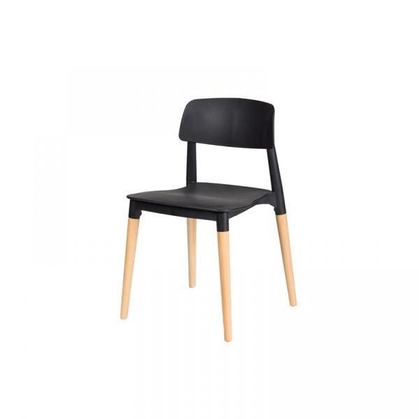 Krzesło King Bath Ecco czarne PW-018.CZARNY