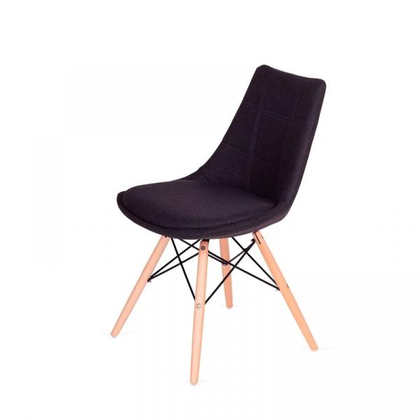 Krzesło King Bath Fabric czarne LI-K146-3.SH04.BLACK