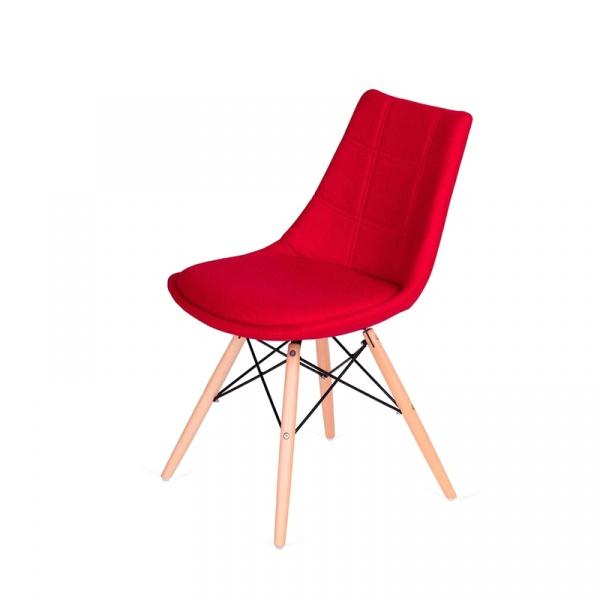 Krzesło King Bath Fabric czerwone LI-K146-3.SH01.RED