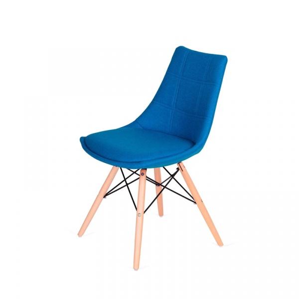 Krzesło King Bath Fabric turkusowe K-146-3.SH06.NIEBIES