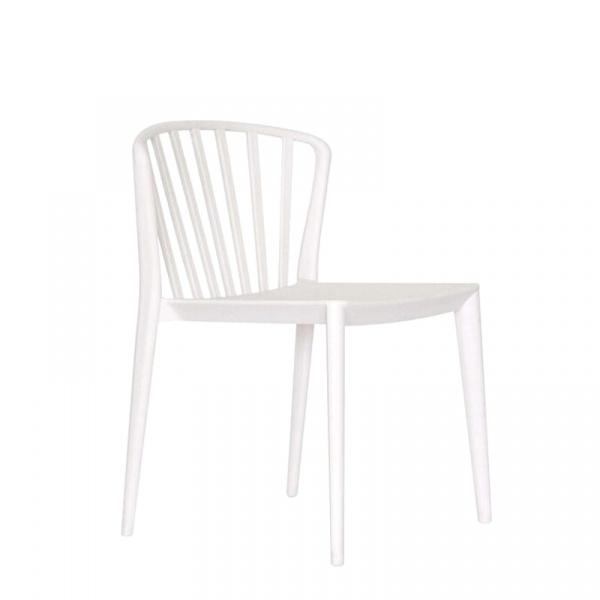 Krzesło King Bath Gamma białe CT-396.BIALY