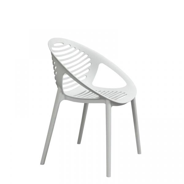 Krzesło King Bath Parilla białe SI-KTIG.WHITE