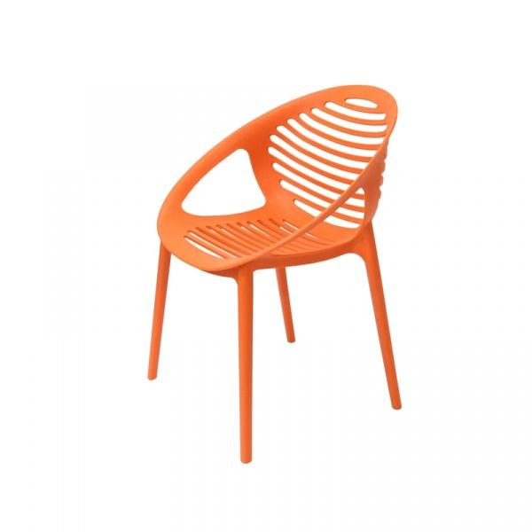 Krzesło King Bath Parilla pomarańczowe TIG.POMARANCZ