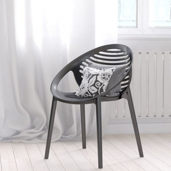 Krzesło King Bath Parilla szare SI-KTIG.GREY