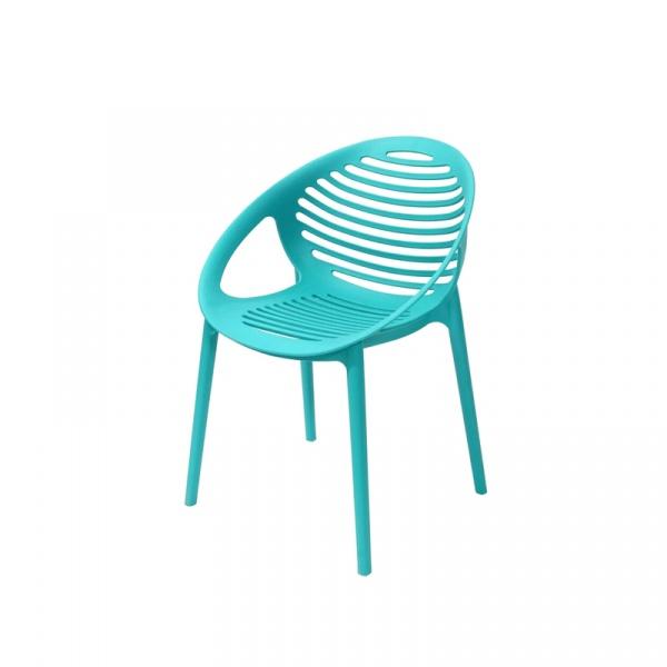 Krzesło King Bath Parilla turkusowe SI-KTIG.TURKUS