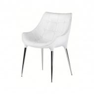 Krzesło King Bath Philippe Passion białe