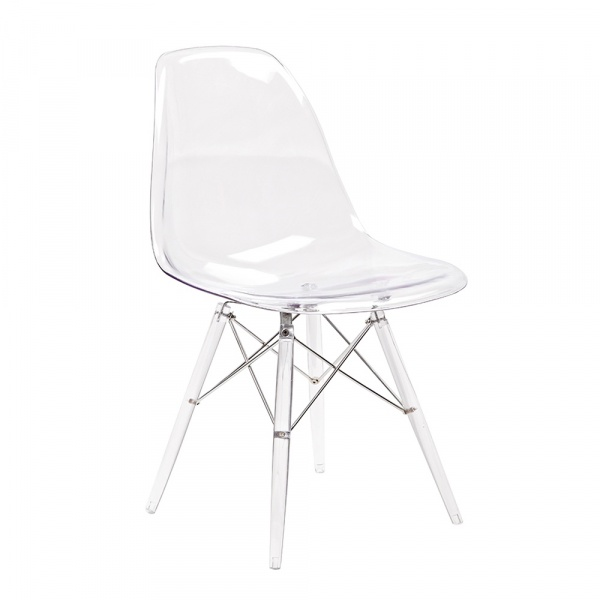 Krzesło King Home DSP Ice przezroczysty 130-CPC.CLEAR