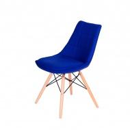 Krzesło King Home Fabric granatowe