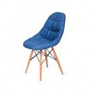 Krzesło King Home Rugo niebieskie