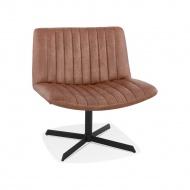 Krzesło Kokoon Design Dione brązowe