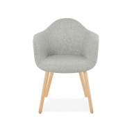 Krzesło Kokoon Design Loko szare