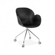 Krzesło Kokoon Design Rulio czarne