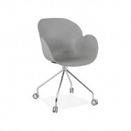 Krzesło Kokoon Design Rulio szare