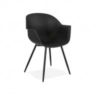 Krzesło Kokoon Design Stileto czarne