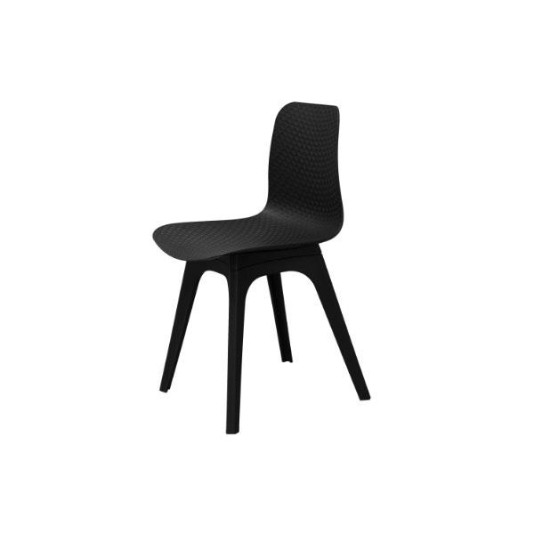 Krzesło Krado DSX King Home czarny SI-KNET-07.BLACK