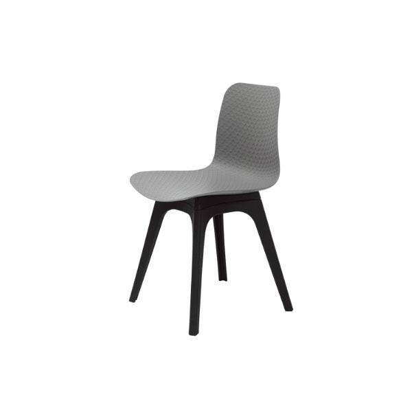 Krzesło Krado DSX King Home szary SI-KNET-07.GREY