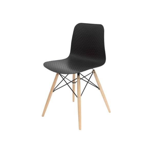 Krzesło Krado King Home czarny SI-KNET-08W.BLACK