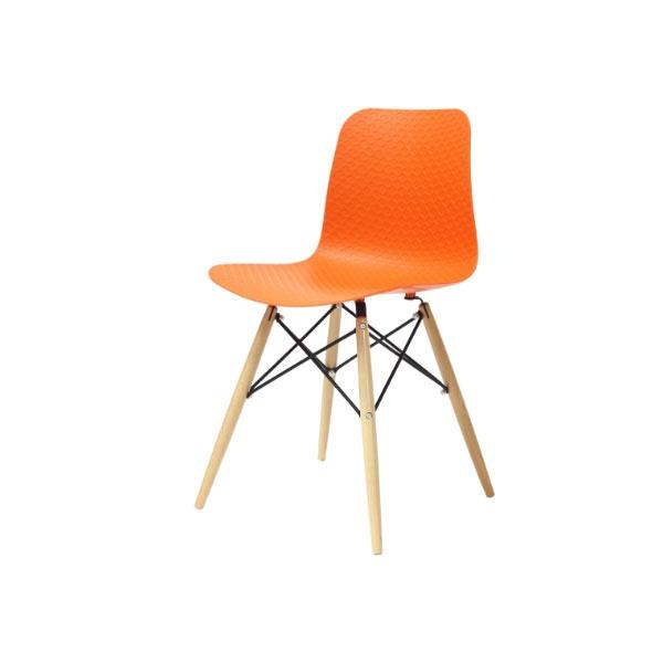 Krzesło Krado King Home pomarańczowy NET-08W.POMARANCZOWY
