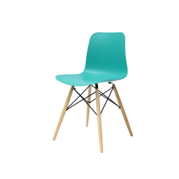 Krzesło Krado King Home turkusowy NET-08W.TURKUSOWY