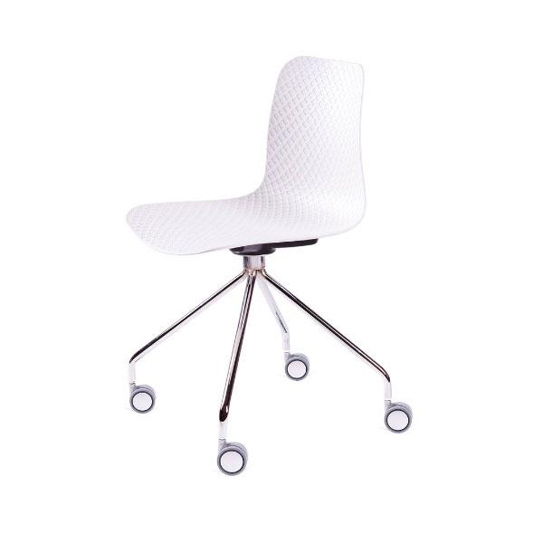Krzesło Krado Roll King Home biały SI-KNET-10.WHITE