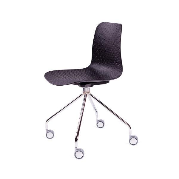 Krzesło Krado Roll King Home czarny SI-KNET-10.BLACK