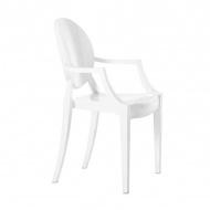 Krzesło Louis King Home białe