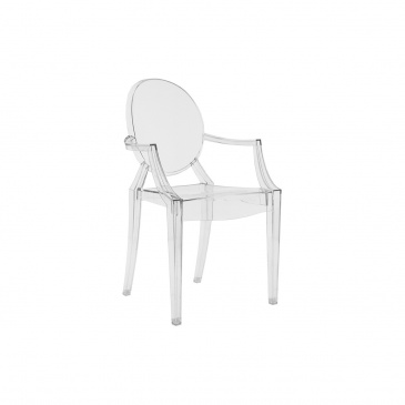 Krzesło Louis Victoria Ghost junior transparentne
