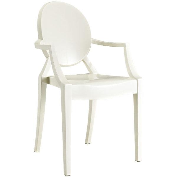 Krzesło Louis Victoria Ghost Royal białe 5902385702546