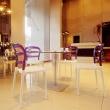 Krzesło Miss Bibi biały/fiolet DK-5404