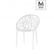 Krzesło Modesto Design Koral białe