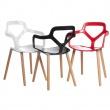 Krzesło Nox Wood białe DK-41971