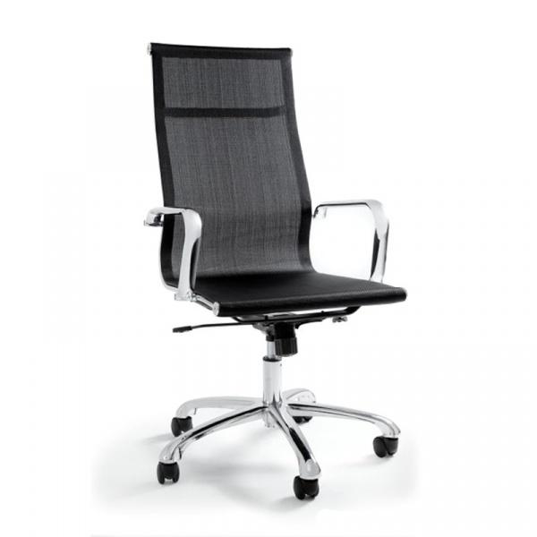 Krzesło obrotowe Unique Drafty czarne WX-14A-4