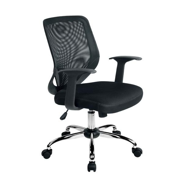 Krzesło obrotowe Unique Mobi czarne W-95-4