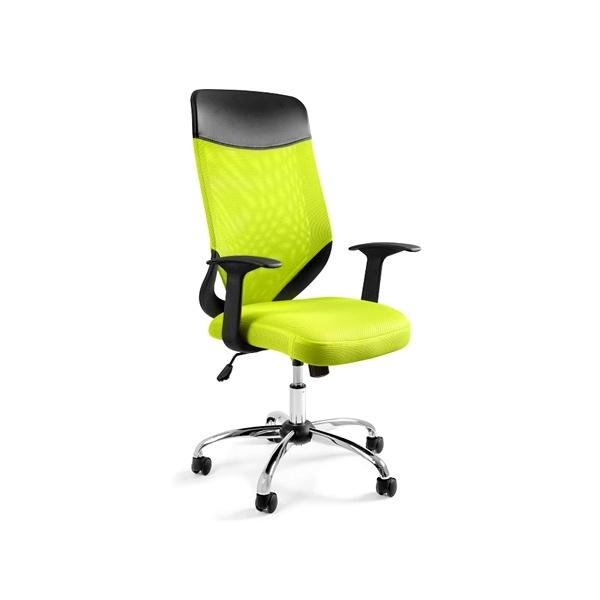Krzesło obrotowe Unique Mobi Plus zielone W-952-9
