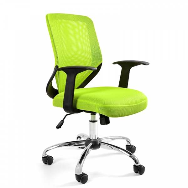 Krzesło obrotowe Unique Mobi zielone W-95-9