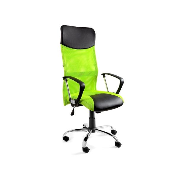 Krzesło obrotowe UNIQUE Viper zielone W-03- 9
