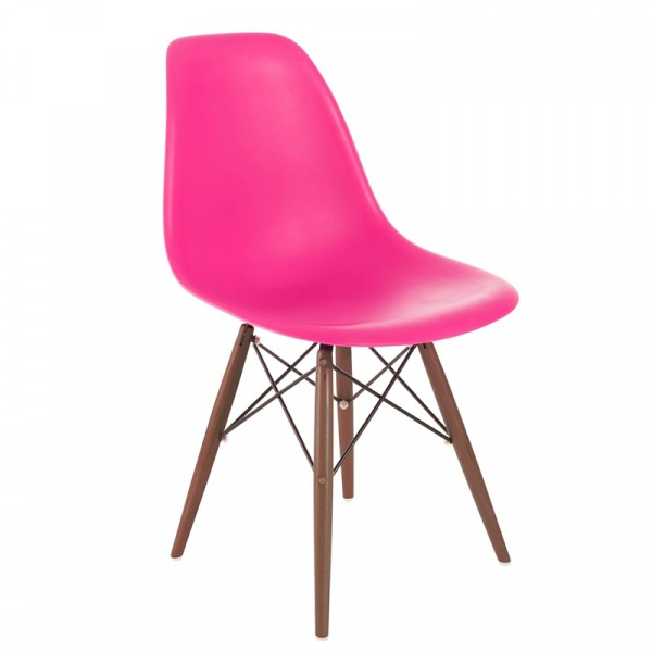 Krzesło P016W PP dark pink/dark DK-63451