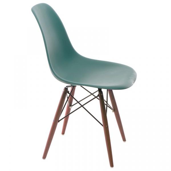 Krzesło P016W PP navy green/dark DK-63461